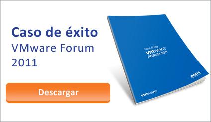 Caso de éxito PGR+. Evento VMware Forum 2011