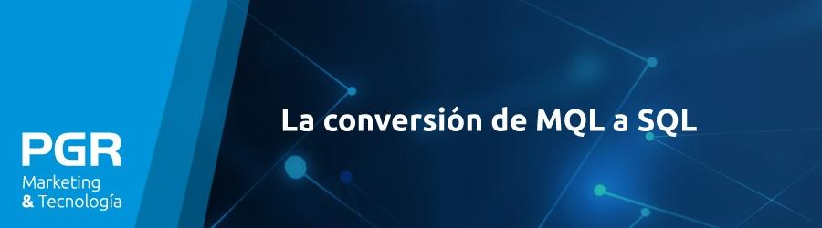 La conversión de MQL a SQL