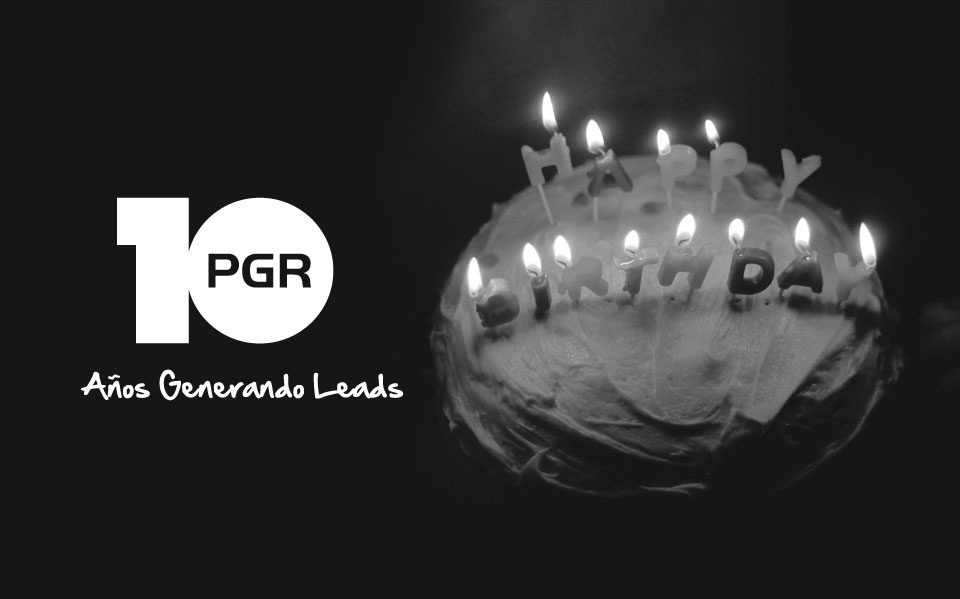 PGR celebrates its first ten years!