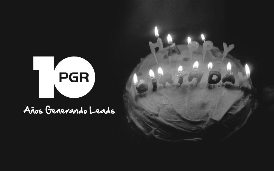 ¡En PGR cumplimos 10 años!