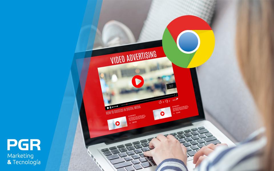 Chrome podría bloquear imágenes y vídeos de tu web actual