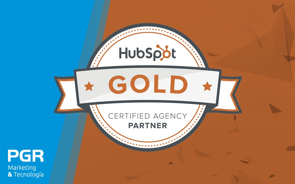 PGR se convierte en Agencia Partner Gold de Hubspot